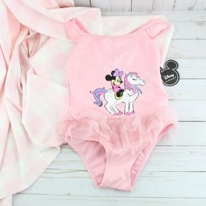 Minnie Mouse Sparkle Tulle Pony Swimsuit (0194)